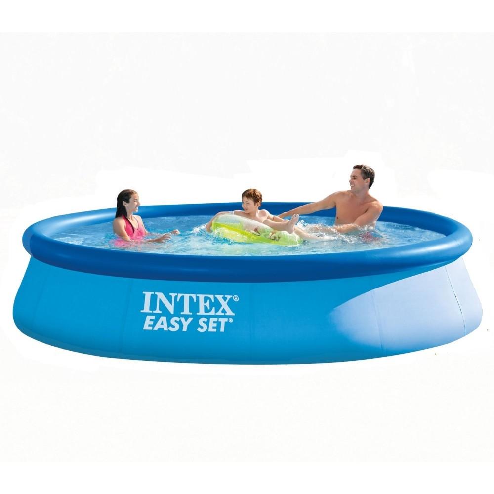 BerlinBuy. INTEX Easy Set Pool 396 x 84 cm 28143NP without ...