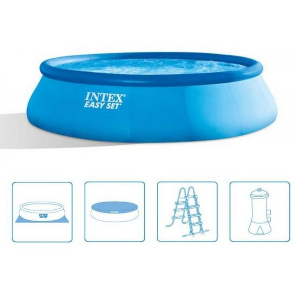 intex easy set pool. Picture Of INTEX Easy Set Pool 457 X 107 Cm (set) 26166GN Intex