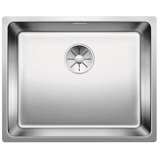 תמונה של BLANCO Andano 500-IF stainless steel sink InFino silk gloss without pull knob 522965