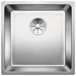 Изображение BLANCO Andano 400-U stainless steel sink InFino silk gloss with pull knob 522960