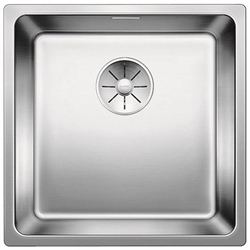 Picture of BLANCO Andano 400-IF stainless steel sink InFino silk gloss with pull button 522958