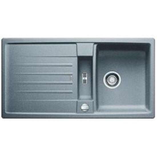 Berlinbuy Blanco Lexa 5 S Silgranit Granite Sink Alumetallic 518643