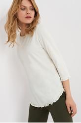 תמונה של ¾- חולצת אורסיי עם וולנים