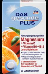 תמונה של מגנזיום +ויטמין C B6 B12 טבליות