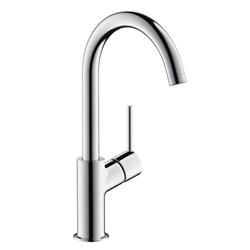 תמונה של Hansgrohe Talis single lever basin mixer 210, swivel spout 120 ° with pop-up waste set 32082000 Version