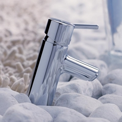 תמונה של Hansgrohe Talis S single lever basin mixer with pop-up waste 32020000 Version