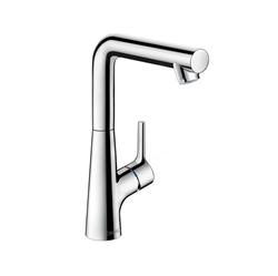 תמונה של Hansgrohe Talis S single lever basin mixer 210, with swivel spout with pop-up waste 72105000 Version