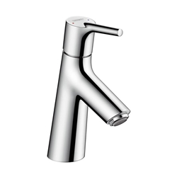 תמונה של Hansgrohe Talis S single lever basin mixer 80 with pop-up waste set 72011000 Version
