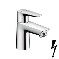 תמונה של Hansgrohe Talis E single lever basin mixer 80, for open hot water heaters with pop-up waste 71707000 Version