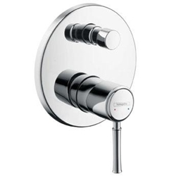 תמונה של Hansgrohe Talis Classic Single Lever Bath Mixer chrome 14145000 Version