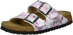 Picture of Papillio Women's Arizona Birko-Flor Softfootbed Mules, Multicolor (Pixel Rose Soft)