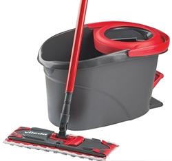Изображение Vileda EasyWring UltraMat complete set, floor wiper and bucket with power swirl