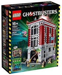 תמונה של LEGO 75827 - Ghostbusters Fire Department Headquarters