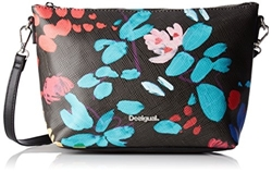 תמונה של Desigual ladies Bols_catania Misha. 2000. U shoulder bag, Black (Negro), 10.5x20.4x24.5 cm