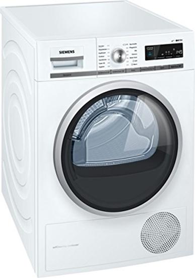 תמונה של Siemens WT47W5W0 iQ700 heat pump dryer / A +++ / 8 kg / Large display with end time preselection / white
