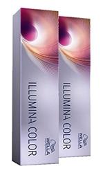 Picture of Wella 2x Illumina Color 7 / Medium Blonde Pur 60 Ml