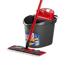 Изображение Vileda Ultramat complete set, floor wiper and bucket with power press