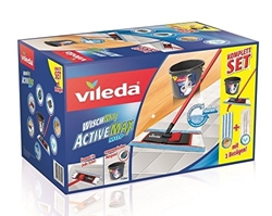Изображение Vileda Wischmat ActiveMax Complete Set - Ideal for thorough cleaning to every corner