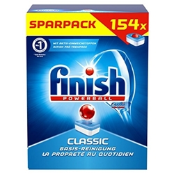 תמונה של Finish / Calgonit Classic economy pack, dishwasher tablets, dishwasher, dishes, dishwasher, rinse, cleaning, 154 tabs