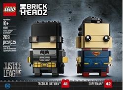 Picture of Lego BrickHeadz 41610 Tactical Batman & Superman