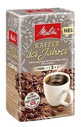 תמונה של Melitta Ground roasted coffee, filter coffee, full-bodied with a caramel note, medium roast, starch 3, coffee of the year, 500 g