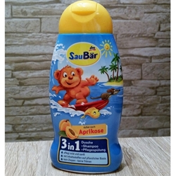 Picture of Kids shower + shampoo + conditioner 3in1, 250 ml