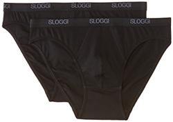 Picture of Sloggi Men's Briefs, Men Basic Mini Brief, GR. Large (manufacturer size: 36), black
