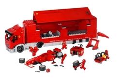 Picture of LEGO 8654 Racers Scuderia Ferrari Truck