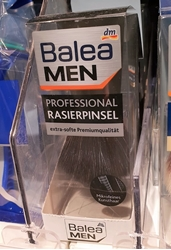 Picture of  Balea men shaving natural bristle professional