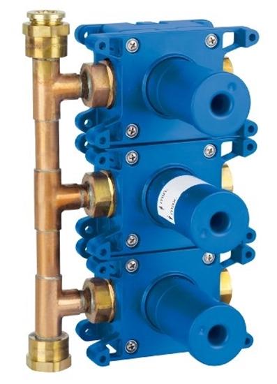 תמונה של GROHE built-in box Grohtherm F 35031 for 3-fold UP valve trim set