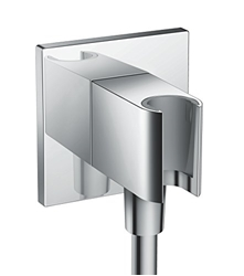 Изображение hansgrohe Fixfit shower bracket square, chrome