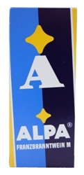 Picture of Alpa Franzbranntwein Menthol 500 ml