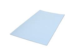 Picture of GleitGut Teflon cut self-adhesive 100 x 200 mm - punched - Teflongleiter extra thin - only 1.5 mm total thickness