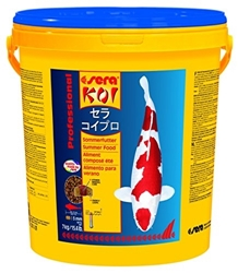 Изображение sera 07018 KOI Professional Summer Food 7 kg - For extra energy at temperatures above 17 ° C with a balanced protein / fat ratio