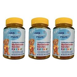 תמונה של מולטי ויטמין לילדים - 3 חבילות (180 יחידות) 180
