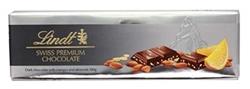 Изображение Lindt - Swiss Premium Chocolate dark chocolate orange-almond, 300g