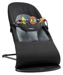 Picture of BabyBjörn 605001 baby rocker package, black