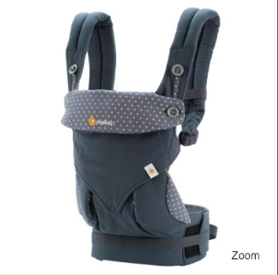 Ergobaby Carrier Babytrage  Rückentrage schwarz Bauchtrage