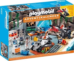 Picture of Playmobil 9263 - Advent Calendar Spy Team Workshop