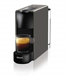 Изображение Krups Nespresso XN1108 Essenza Mini Coffee Machine, 1260 Watt, black, 0.7 liter [Energy Class A]