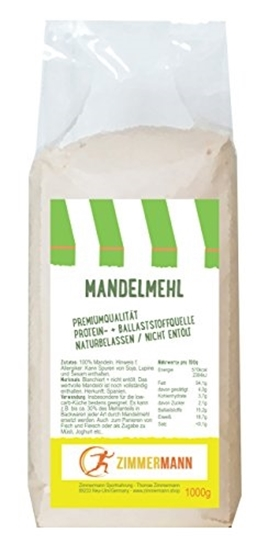 Picture of Almond flour 1kg- natural Zimmermann