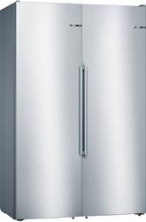 """תמונה של מקרר דלת ליד דלת A+++ 186 ס""""מ גובה 348 ליטר סופר קירור של חברת בוש מדגם KAN95AI4P"""