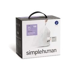 Picture of Simplehuman garbage bag (100), code J, 30-40 liters, cw0238