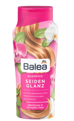 Изображение Balea Shampoo silk gloss, 300 ml