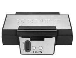 Изображение Krups FDK 251 Waffle Maker, 850 Watt for Belgian Waffles, black - stainless steel