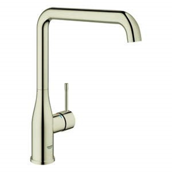 Warm Sunset OHM sink L-spout Grohe Essence New