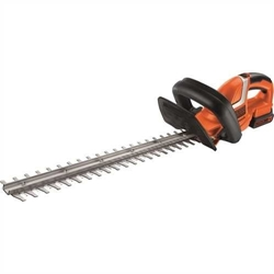 Picture of Black + Decker Battery Hedge trimmer GTC1845L20 with E-Drive technology for cutting hard and thick branches and medium to large hedges - 18mm cutting thickness - 18V - 2.6kg light