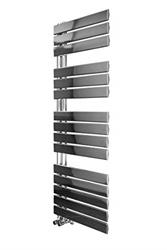 Изображение Kristiansund towel radiator 1380 x 500mm chrome with electric thermostat element