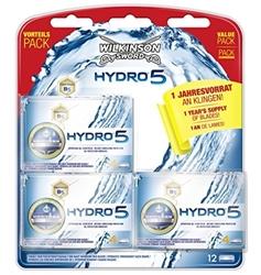 Изображение Wilkinson Sword Hydro 5 Year Supply Pack Men's Razor Blades 12 pcs