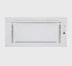 Picture of F.BAYER FB-LEO 60GW cooker hood / fan block / glass / 27 cm / turbo level / remote control / white
